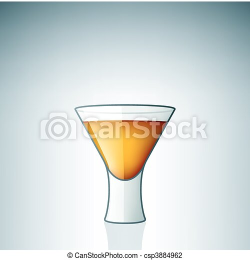 Vodka Shoot Glass - csp3884962