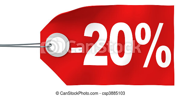 20% off tag - csp3885103