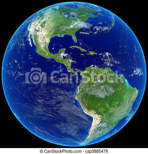 Earth - csp3885478