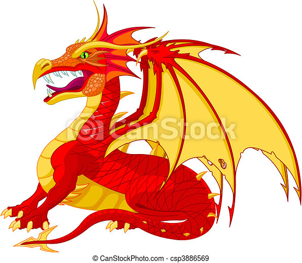 Dragon - csp3886569