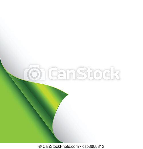 Foil Curled Corners - csp3888312