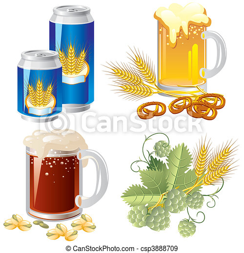 beer set - csp3888709