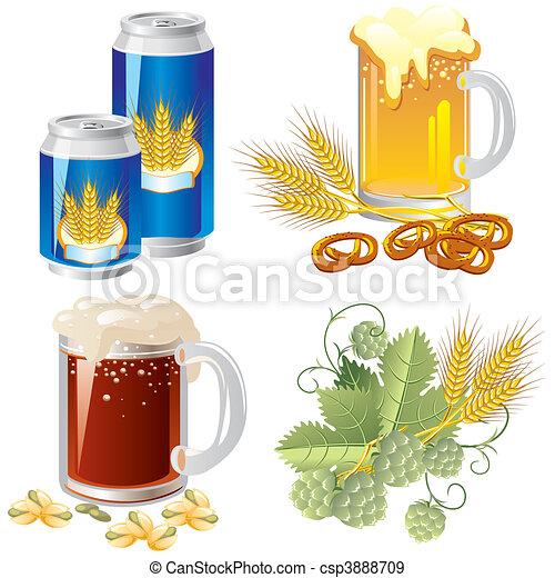 beer set - csp3888709