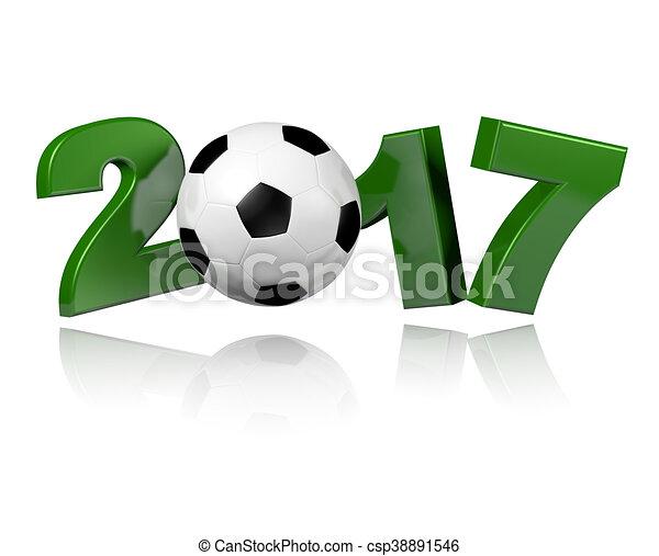Football 2017 design - csp38891546