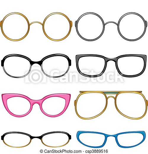 Collection glasses for every taste - csp3889516