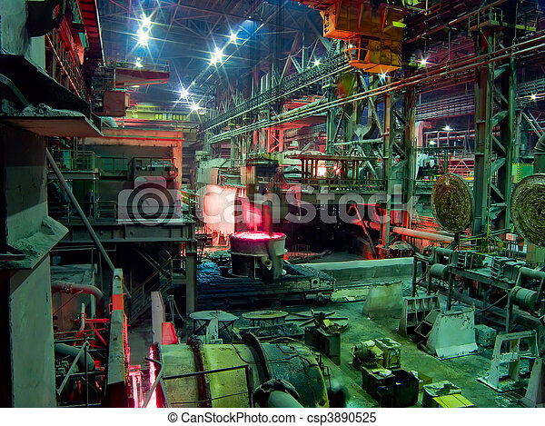 Metallurgical works, industrial production process - csp3890525