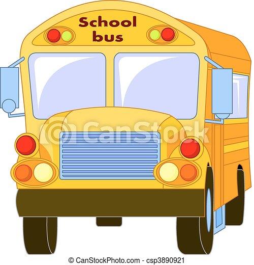 Yellow School Bus - csp3890921