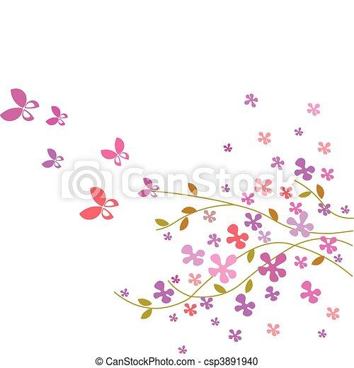 Dessin Papillon Couleur Rose