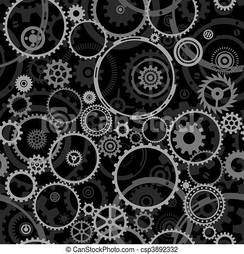 Seamless Cogwheels - csp3892332