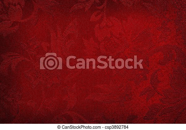Red Silk Background - csp3892784