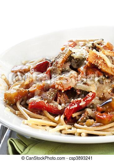Vegetarian Spaghetti - csp3893241