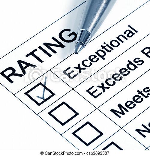 Excellent Rating - csp3893587