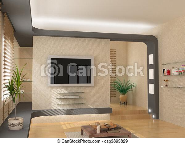 Stock illustration von modern inneneinrichtung design for Wohnung inneneinrichtung design