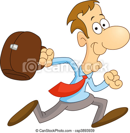 Running man - csp3893939