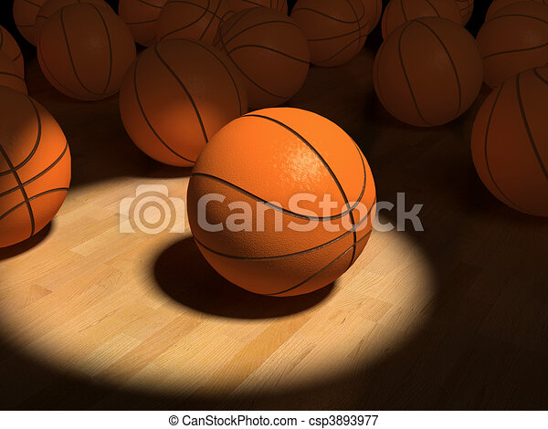 basketball items - csp3893977