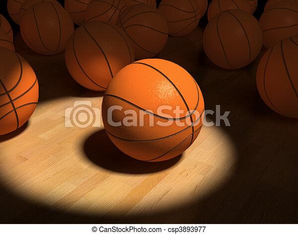 basketball items - csp3893977