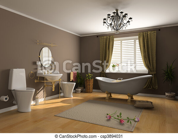 Clipart von badezimmer inneneinrichtung modern for Inneneinrichtung badezimmer