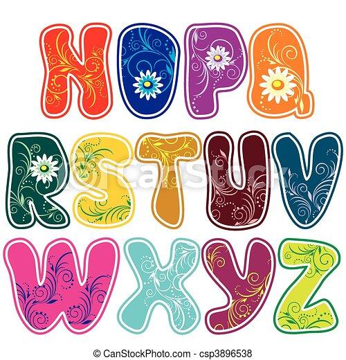 alphabet (Part 2) - csp3896538