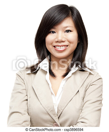 Asian woman - csp3896594
