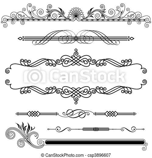 Horizontal Ornamental - csp3896607