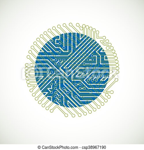 eps vectors of vector abstract computer circuit board colorful csp38967190 search clip art