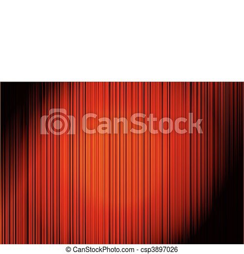 Abstract Red Vertical Striped Background - csp3897026