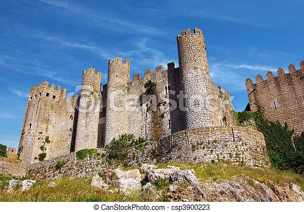 Obidos Castle - csp3900223