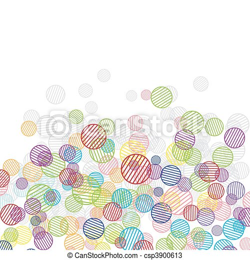 Abstract funny background for your design - csp3900613
