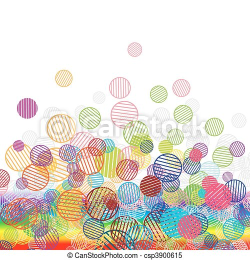 Abstract funny background for your design - csp3900615