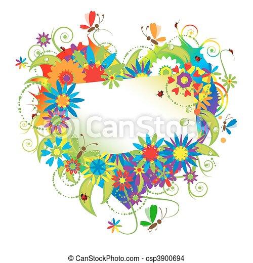 Summer dreams, greeting card - csp3900694