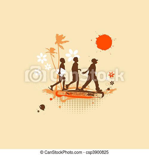 Adventures, summer holiday - csp3900825