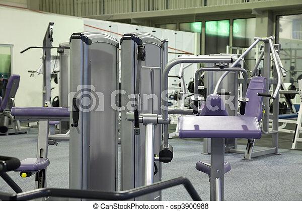 fitness center - csp3900988