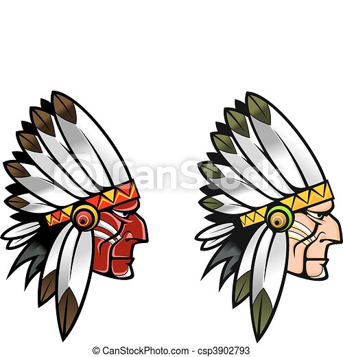 Indigenous people - csp3902793