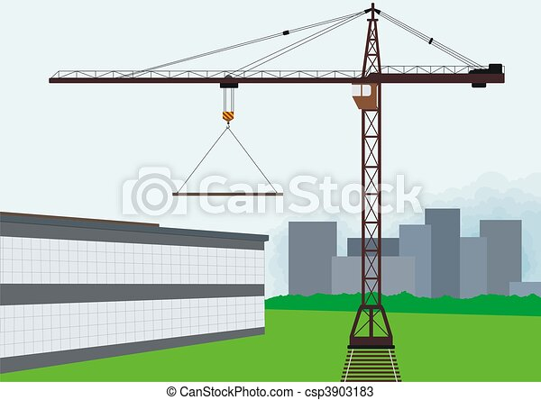 toren, Kraan - csp3903183