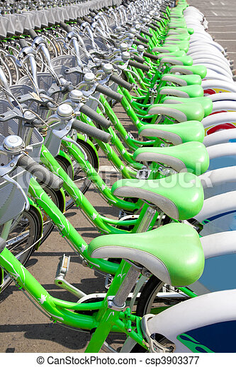Green Bicycle rent station