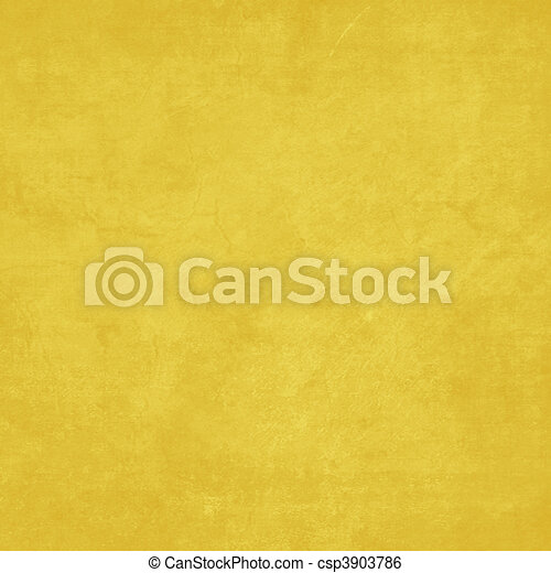 Happiness Collection Yellow Solid Texture Background - csp3903786