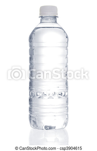 Purified water bottle - csp3904615
