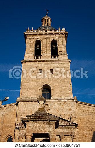 Cathedral of Ciudad Rodrigo, Salamanca, Castilla y leon, Spain - csp3904751