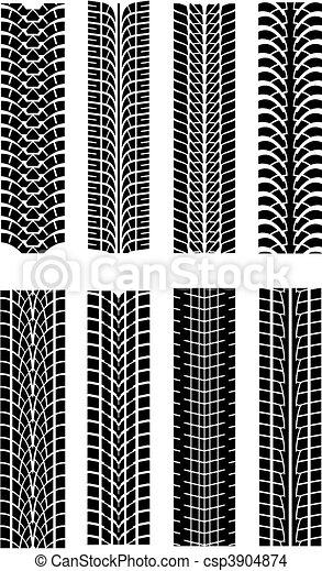 Tire shapes - csp3904874