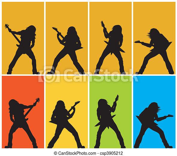 Guitarists - csp3905212