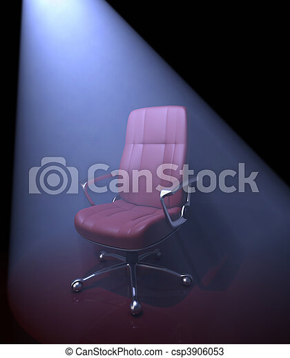 Chair / Important Person Missing - csp3906053