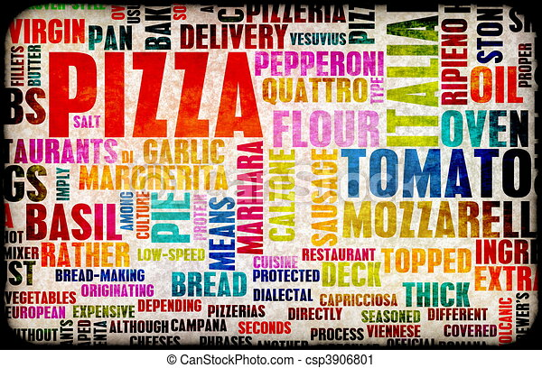 Pizza - csp3906801