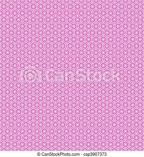 pink circles texture - csp3907373