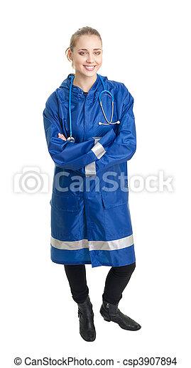 Emergency service worker - csp3907894