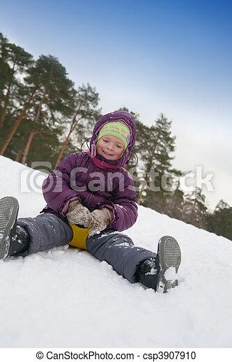 slide on the slide