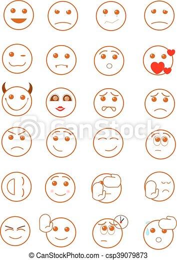 Smiley faces - csp39079873