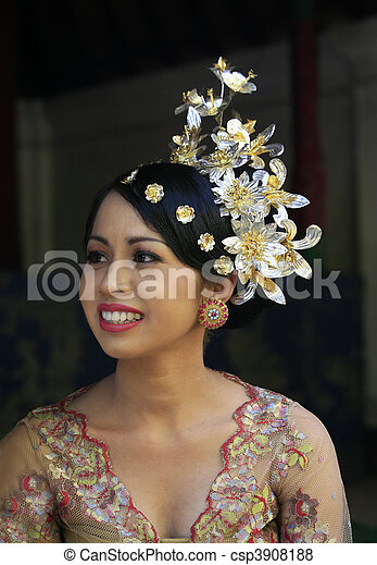 Indonesian bride - csp3908188