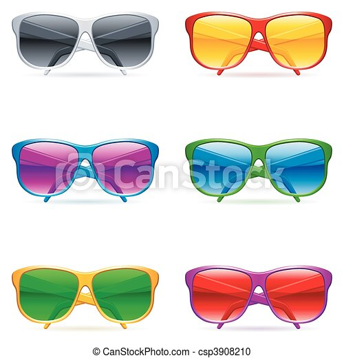 Sunglasses set. - csp3908210