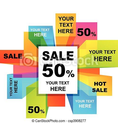Sale backgrounds  - csp3908277