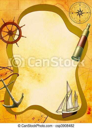 Sea adventure - csp3908482